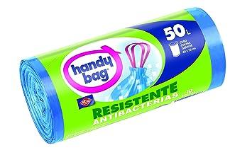 Albal - Handy Bag - Bolsa basura con autocierre, 50 l - 10 ...