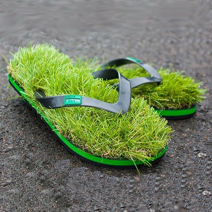 Sandalias Zapatos Kusa Ojotas Verano Hierba Ciervo Mens Funky 3RqjcL4A5S