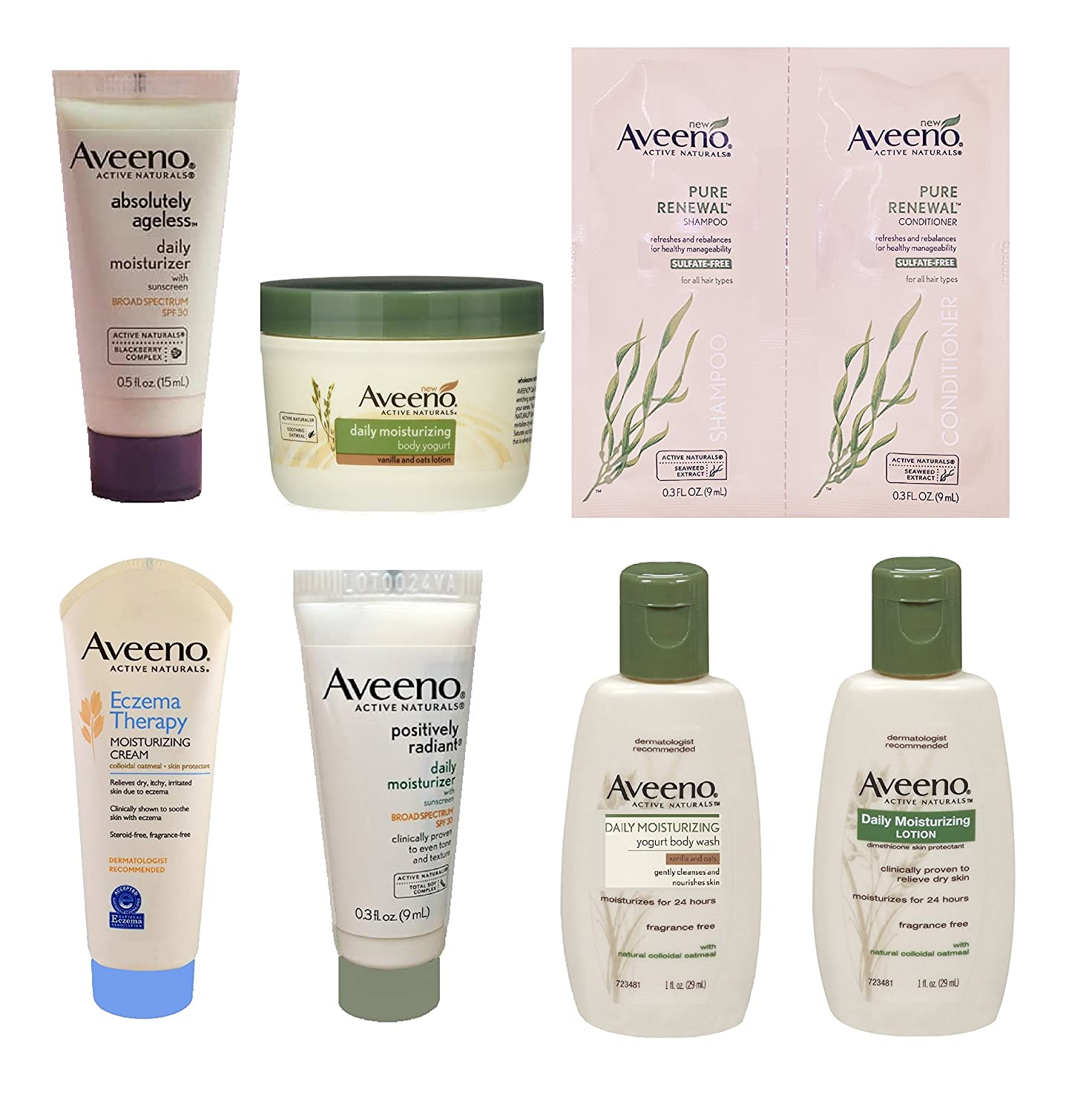 FREE Aveeno Sample Box, BACK A...