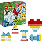 LEGO DUPLO Classic 10909 Heart Box Building Kit (80 Pieces)