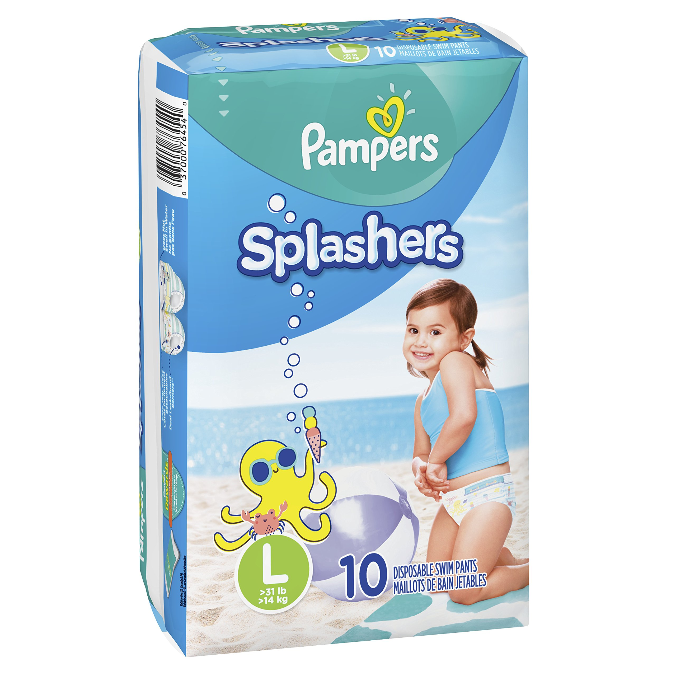 Amazon Com Pampers Splashers Swim Diapers Disposable