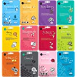 Celavi Face Mask Set Korean Beauty Essence Facial Paper Sheet Mask Korea Skin Care Moisturizing 12 New flavors K-Beauty Skinc