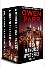 Joey Mancuso Crime Mysteries: Volumes 1 - 3 (Mancuso, O'Brian Crime Mysteries) Kindle Edition