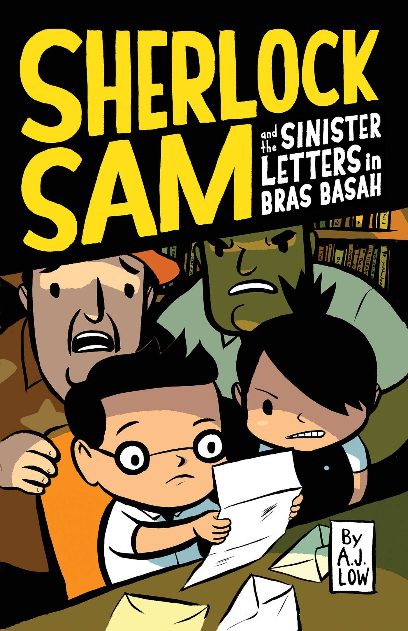 Download Sherlock Sam and the Sinister Letters in Bras Basah PDF