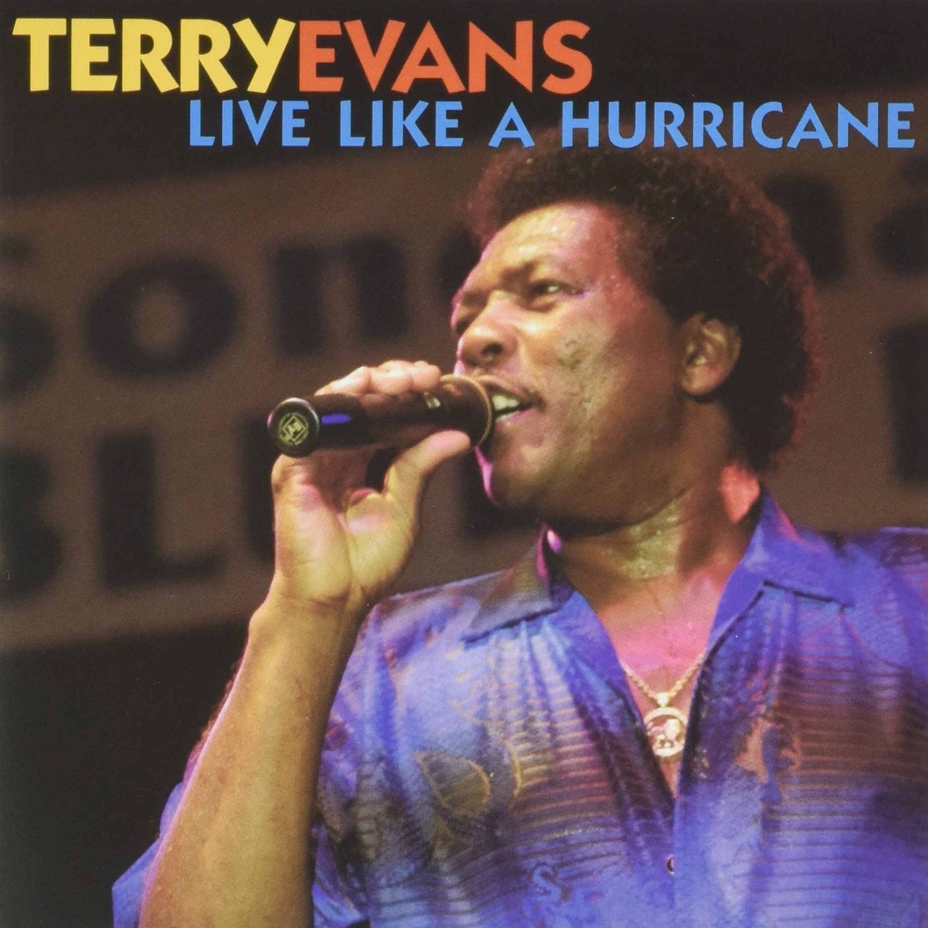 Live Like a Hurricane by Evans, Terry