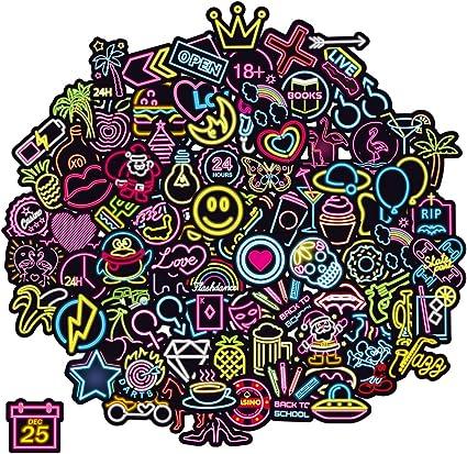 Q Window Lot Autocollant Graffiti Vinyle Stickers Déco pour Ordinateur Portable, Valises, Enfants, Skateboard, Voiture, Moto, Snowboard, IPhone,