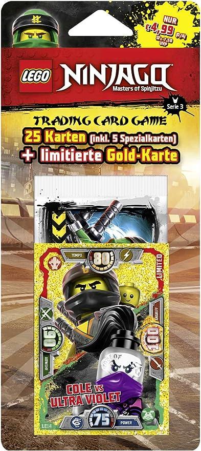 limitiert LE 20 Lego Ninjago Serie 4: LE 17 2019 4 x TRADING CARD GAME