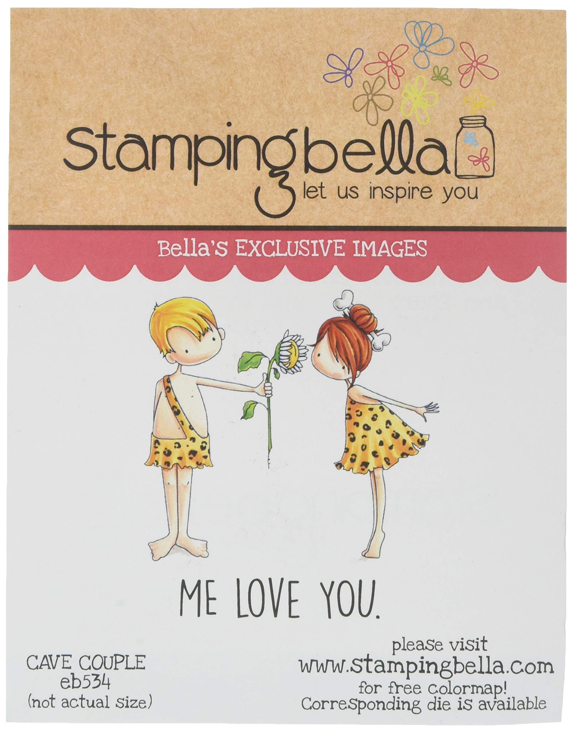 Stamping Bella EB534 Cling Stamps-Couple