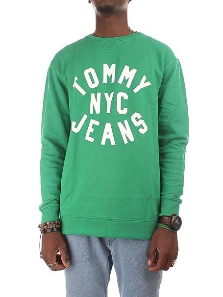 Tommy Hilfiger DM0DM04081391 Sudaderas Hombre Verde 2XL: Amazon.es: Ropa y accesorios