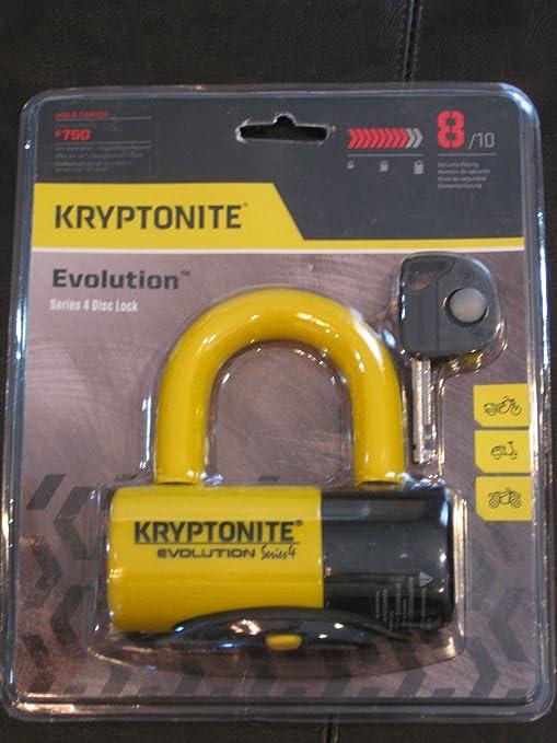 Kryptonite 999614 serie evolución-4 amarillo 14 mm cerradura ...