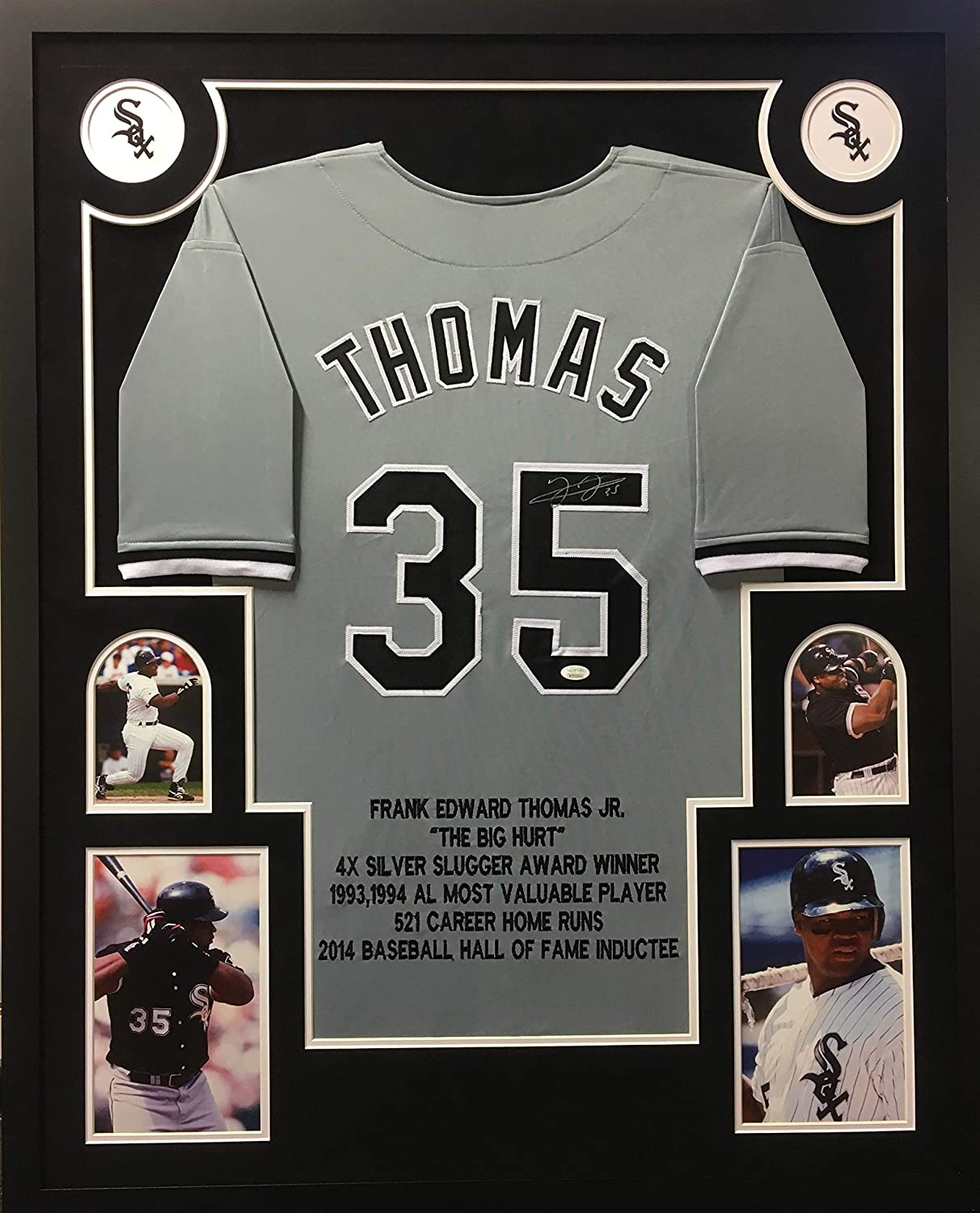 best authentic 13009 42482 Frank Thomas Chicago White Sox Autograph Signed Custom ...