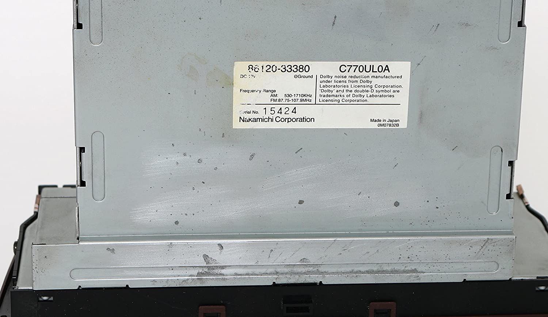 2000 2001 Lexus Es300 Am Fm Radio Cd Cassette Nakamichi Speaker Diagram And Parts List For Audioequipmentparts Audio W Aux 86120 33380 Automotive