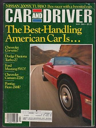 CAR & DRIVER Mercedes 500SEC Buick Electra Nissan 200SX Isuzu Trooper + 5 1984 at Amazons Entertainment Collectibles Store