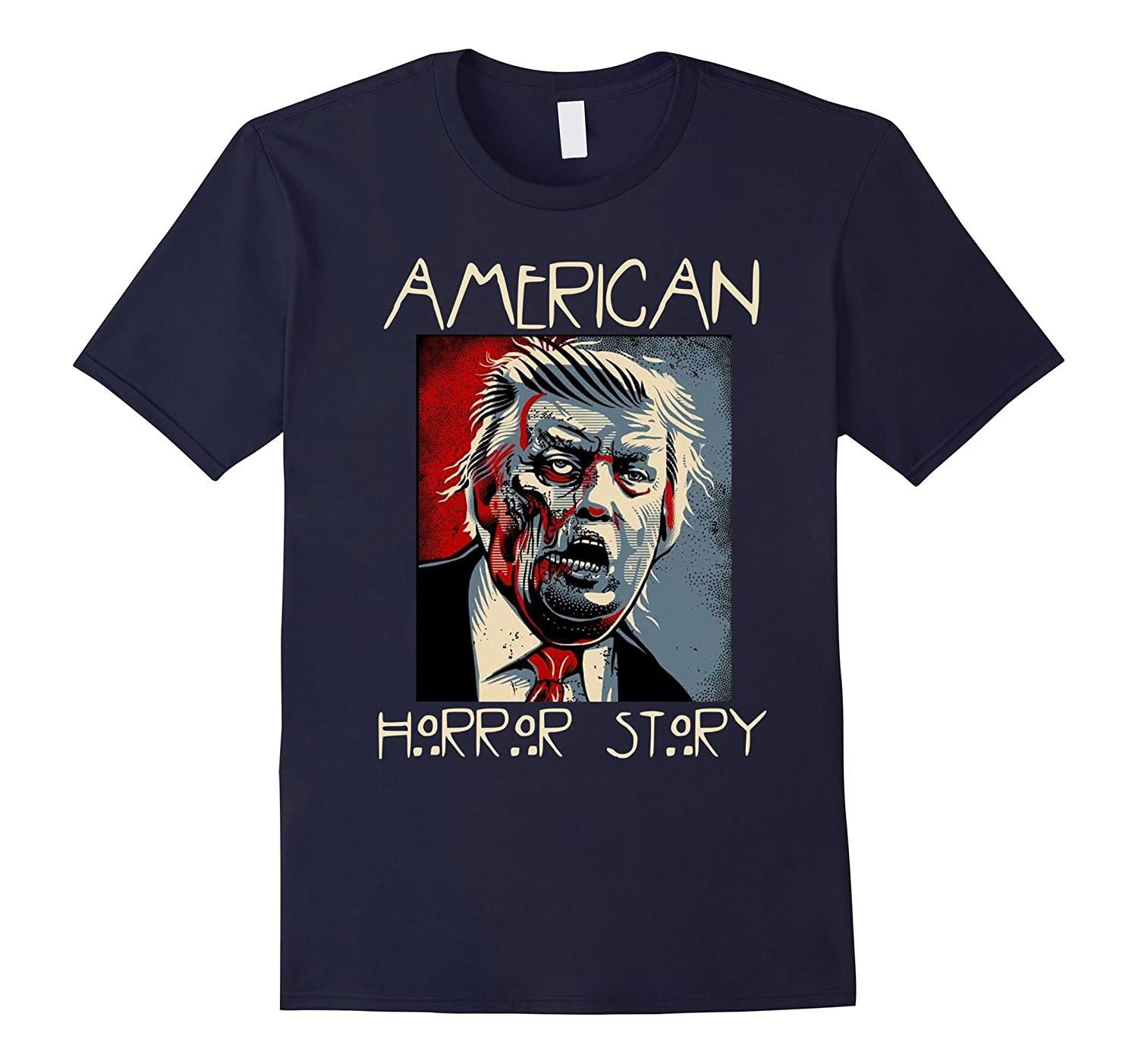 American for Donald Trump horror story Tee-BN