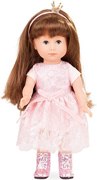 5fd812ede1cf Götz 1713029 Just Like me - Prinzessin Chloe Puppe - 27 cm große Stehpuppe  mit extra