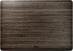 """TOAST - Real Wood, Self-Adhesive Cover for Apple 15"""" MacBook Pro with Touch Bar - Ebony"""