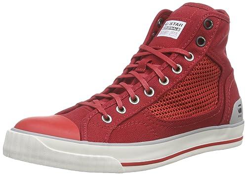 G-Star Raw FALTON WMN MESH HI - Zapatillas Mujer, Rojo (red-603), 36: Amazon.es: Zapatos y complementos