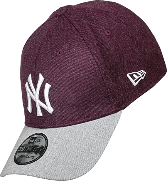 A NEW ERA MLB Heather Visor Neyyan Mrngra Gorra Línea York Yankees ...