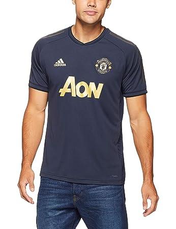 f04f478cc adidas Manchester United FC EU Training Short Sleeve Jersey, Boys', CW7568,  Night