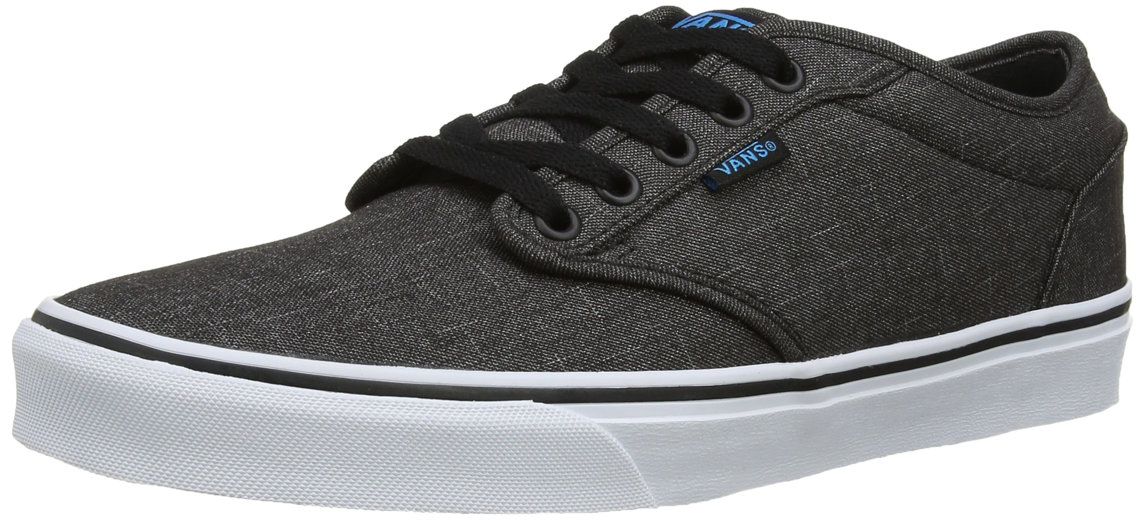 ca26ec6febbff5 Galleon - Vans Mens Atwood Textile Shoes Black Hawaiian Ocean Size 10