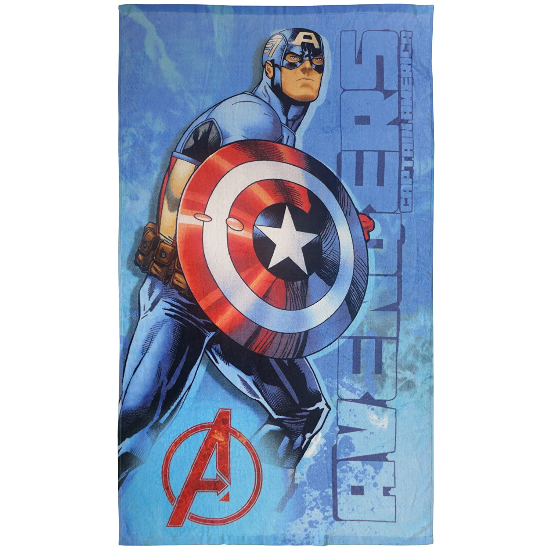 blau Avengers Force Badetuch Baumwolle 70 x 120 cm