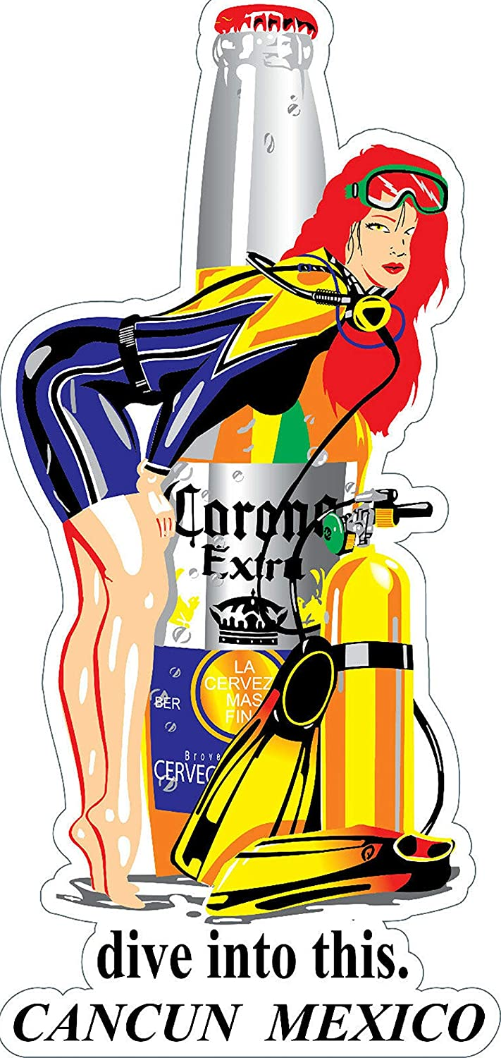 CORONA EXTRA Sticker Decal *DIFFERENT SIZES* Mexican Beer Cerveza Bumper Bar