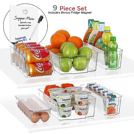 Storagemaid - Contenedores organizadores para refrigerador ...