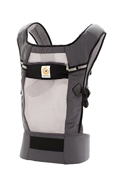 3b6a79c5c24 Amazon.com   Ergobaby Original Cool Air Mesh Performance Ergonomic  Multi-Position Baby Carrier with X-Large Storage Pocket
