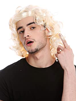 WIG ME UP ® - 3750-P88 Peluca Rubia Hombres Mujeres Gigolo ...