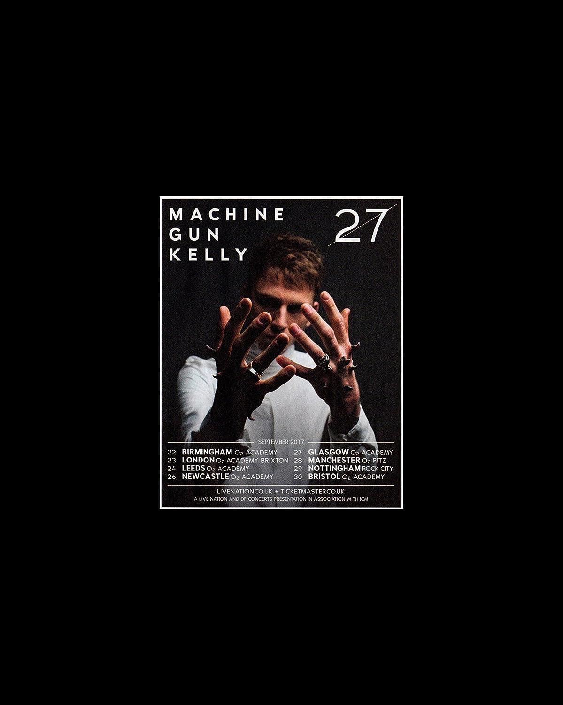 Machine Gun Kelly – UK Tour 2017 Mini Poster – 25.4 x 20.3 cm ...