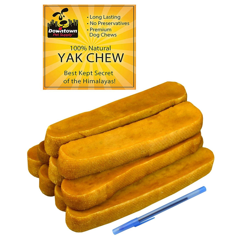 3 lb Downtown Pet Supply Himalayan Yak Dog Chew, 100% Natural Dog Chews, Value Pack ( 3 lb, Mulitple Chews)