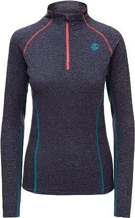 Ternua ® Alma 1/2 Zip LS W Camiseta Mujer