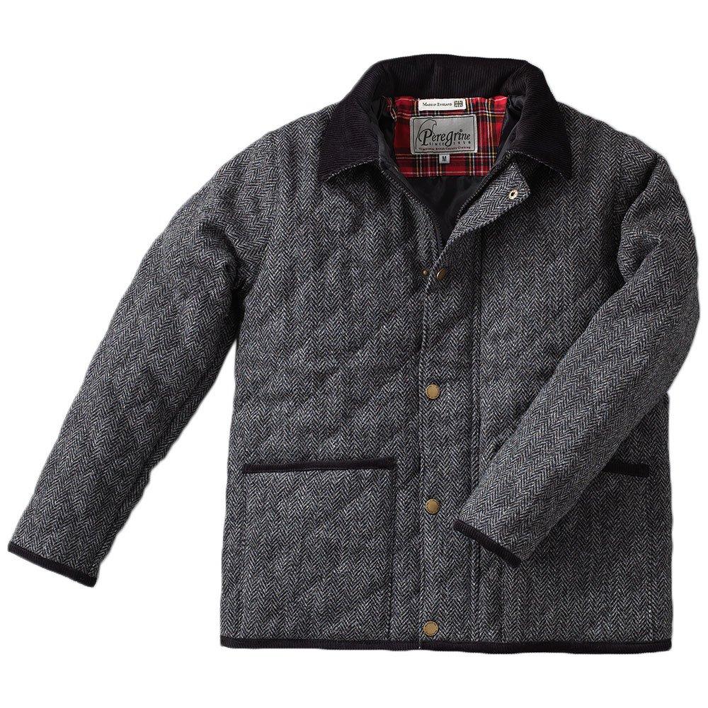 ペレグリン(Peregrine) HARRIS TWEEDキルティングジャケット ハリスツイード B008BPJBOW   M