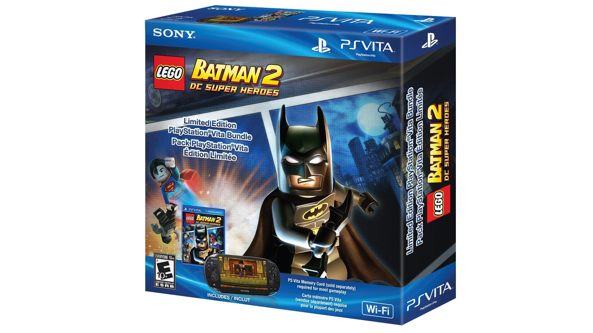 PlayStation Vita LEGO Batman 2 DC Super Heroes Wi-Fi Bundle by Sony