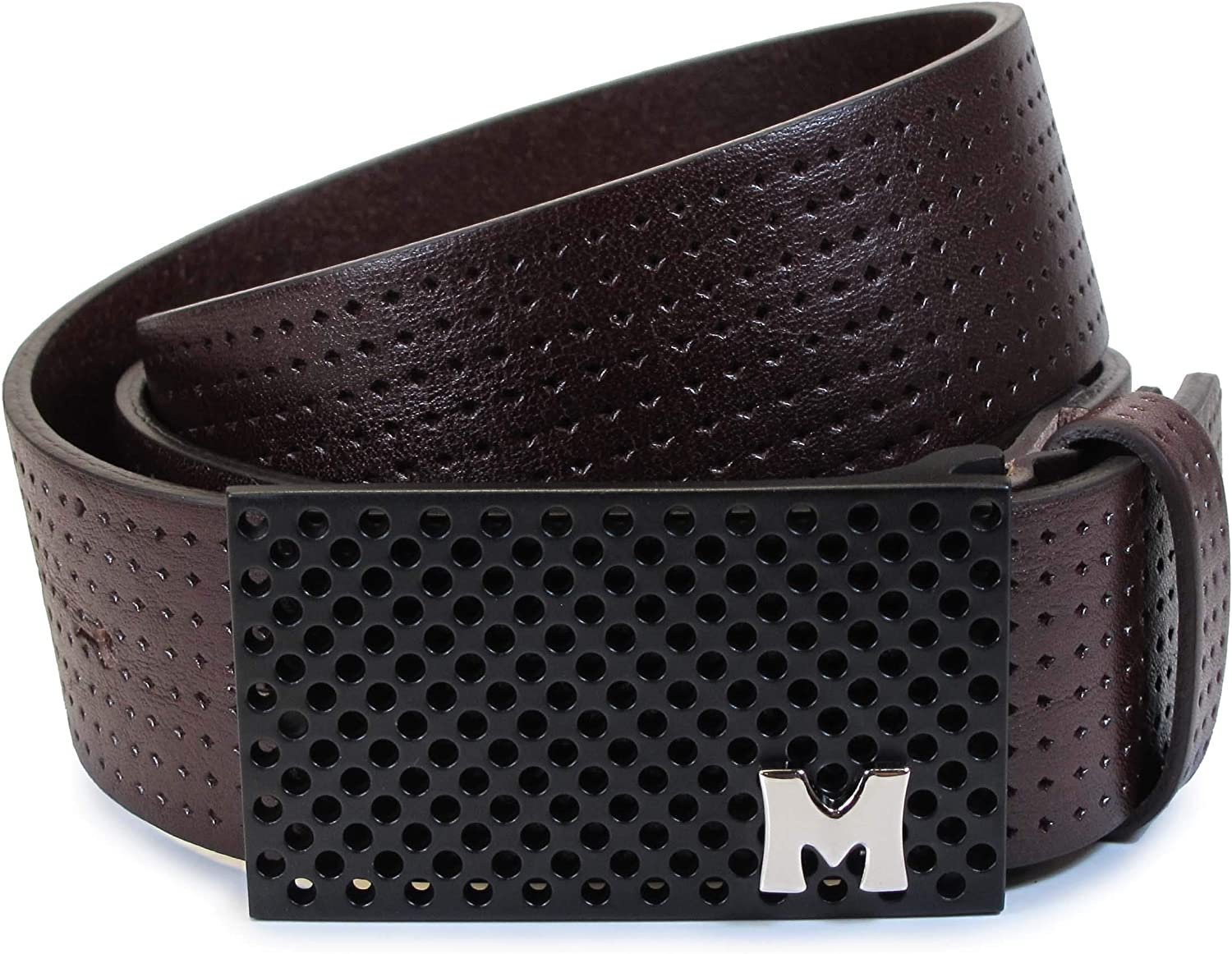 TW3 Womens Real Genuine Leather Belt Black Brown White 1.5 Wide S-L Casual Jeans