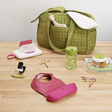 OXO 6350900 - Dispensador toallitas de viaje, color rosa: Amazon.es: Bebé