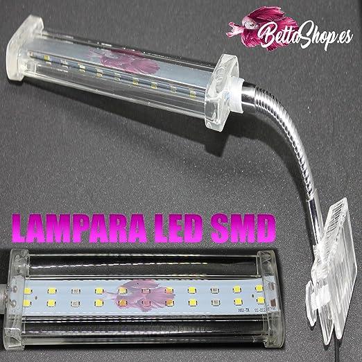 LAMPARA PANTALLA LUZ LED PARA ACUARIO 6 LEDS LAMPARA LED ACUARIO PANTALLA LED