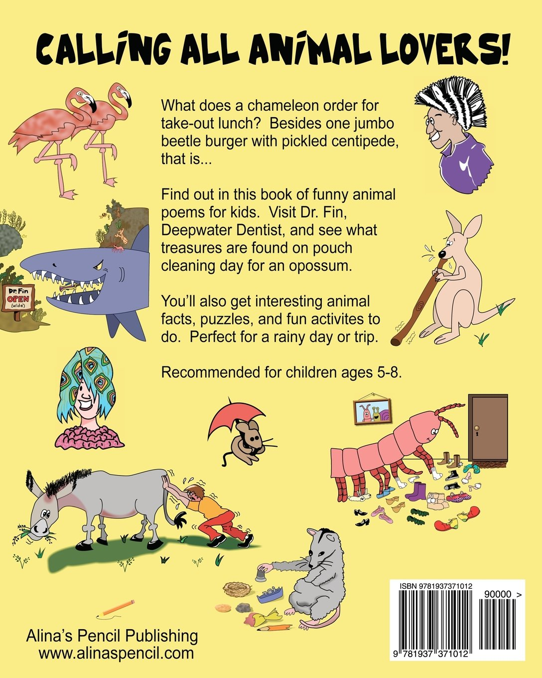 Lizard Lunch and Other Funny Animal Poems for Kids With Animal