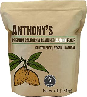 product image for Anthony's Blanched Gluten Free Almond Flour, 4 lb, Gluten Free & Non GMO, Keto Friendly