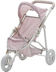 Olivias Little World - Polka Dots Princess, muñeca Cochecito de Jogging (Primary Products OL