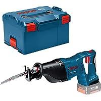 Bosch Professional 18V System sladdlös tigersåg GSA 18 V-LI (med 2x tigersågblad (trä/metall), utan batterier och…