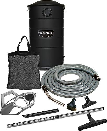 VacuMaid GV50BLKPRO Professional Wall Mounted Garage and Car Vacuum