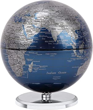 2 in 1 LED World Globe Desktop Decoration Geographic Interactive Earth Globes