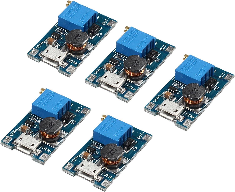 2//5PCS Arduino Board Boost Converter Step Up Power DC-DC 2V-24V Booster Module