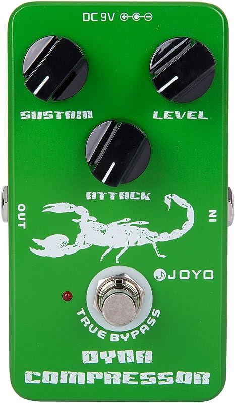 Joyo Jf-10 Compresor dinámico Guitarra AMP Efecto Pedal True ...