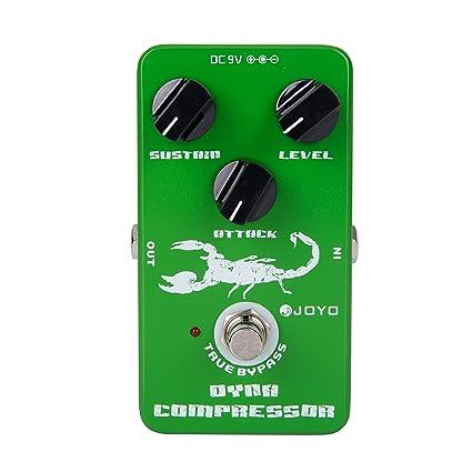 Joyo Jf-10 Compresor dinámico Guitarra AMP Efecto Pedal True Bypass