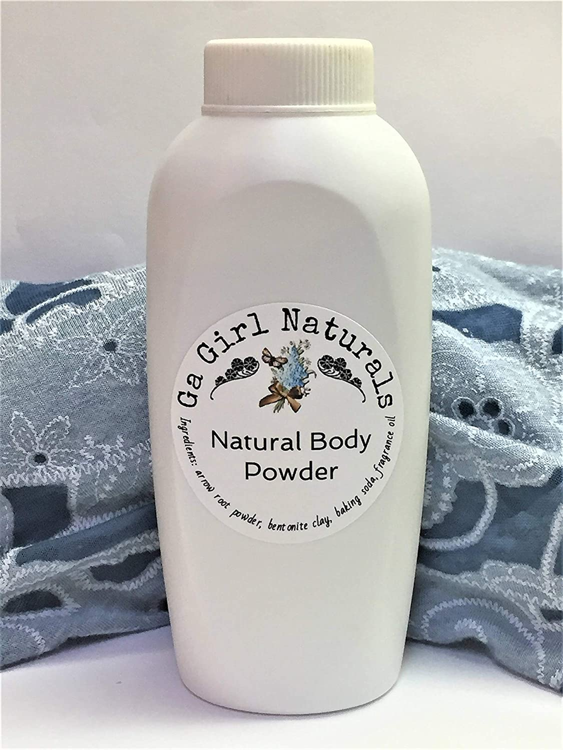 . Vanilla Sandalwood Natural Deodorizing Body Powder