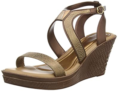 16c3e378c Grendha Brasil Allure Wedge Bronze Womens Sandals