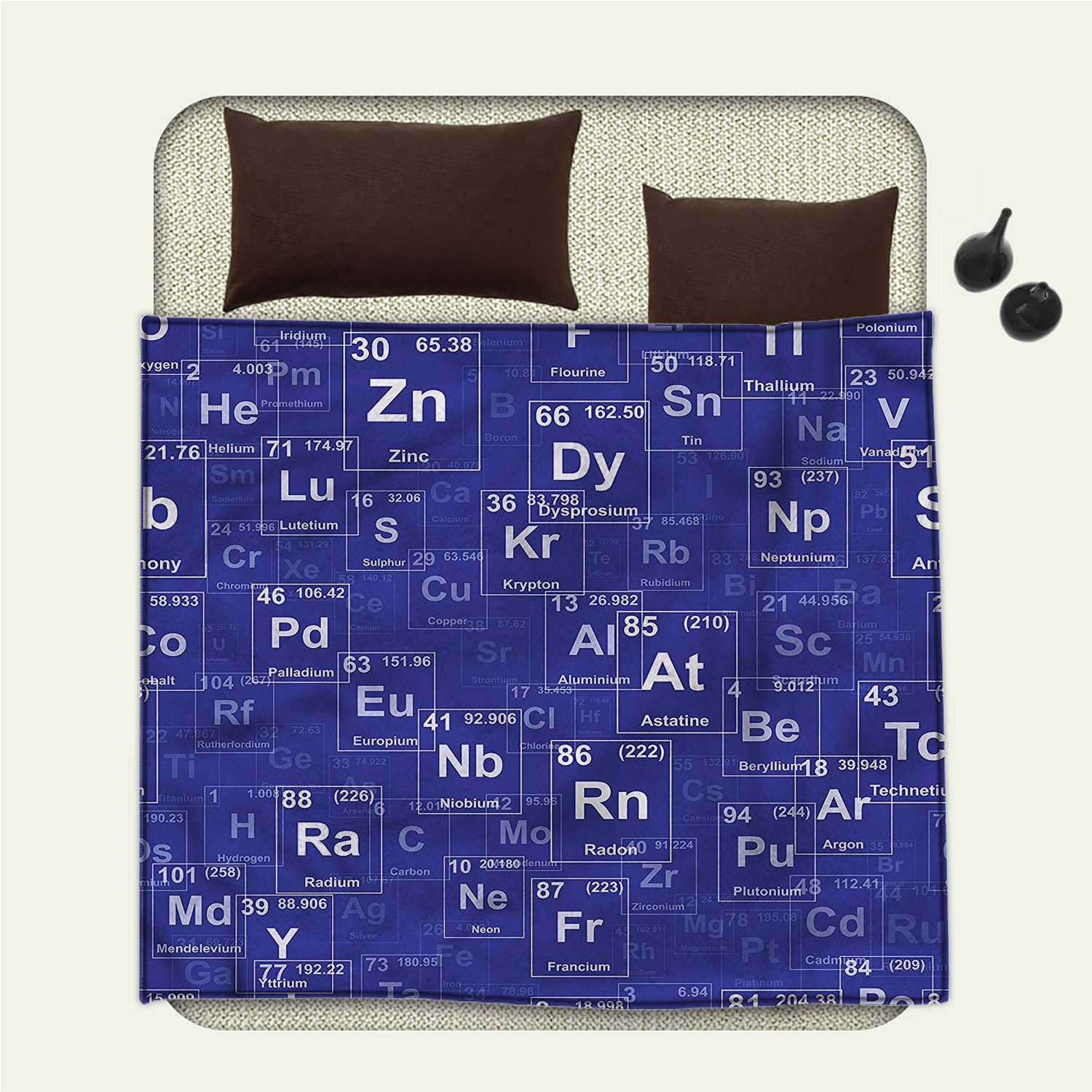 Smallbeefly Periodic Table Picnic Blanket Chemistry Elements