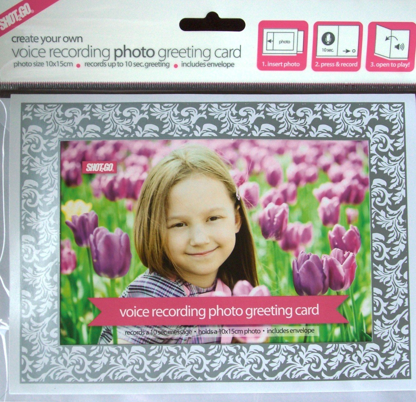 Mothers Day Create Your Own Voice Recording Photo Greeting Card